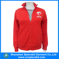 Custom logo winter woman cheap nylon running jacket