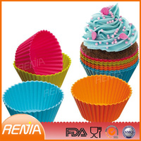 cupcake form mould tray maker and factory wholesale diferent teacup silicone cupcake mold
