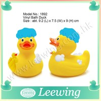 Yellow Rubber Duck Baby Bath Toys