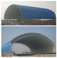 Space Steel Frame for Coal Storage