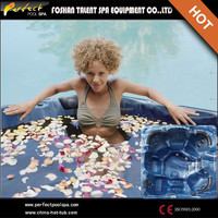 New Design! Small freestanding plastic bathtub for adult used