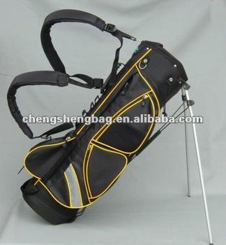 Luxurious golf stand bag