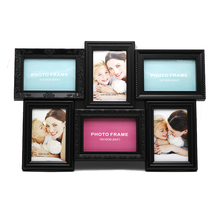 OEM/ODM Different styles plastic wall frame black collage picture frames image for multiple photos collage