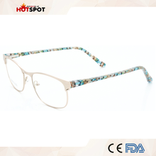 Wenzhou wholesale Factory direct spectacle frame ready stock Latest eyeglasses frames
