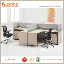 Open office workstations cheap price high quality 2 person computer desk