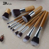 Makeup cosmetic wholesale fashionable professional hot selling face bamboo blush brushes