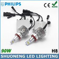 Latest Patent 4500lm 45W 5th Generation H8 LED Philips Head Bulb of Automotive