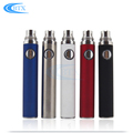 China Shenzhen Wholesale 650Mah/900Mah/1100Mah Colored E Cigarette Evod Twist Battery