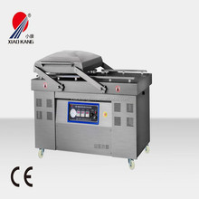Vacuum packaging machine for fish and meat