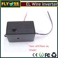 EL luminescent on/off/flash 3 modes 5m/10m neon light driver EL wire controller blacklight inverter
