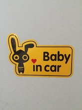 High quality reflective material car stickers cartoon car stickers