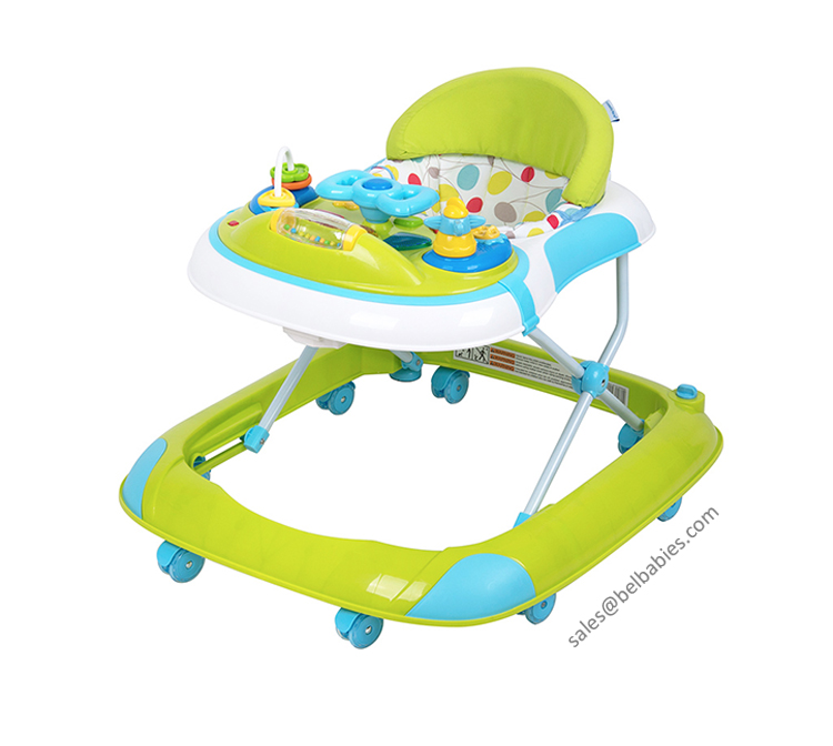 Multifunctional plastic baby products inflatable unique baby walker