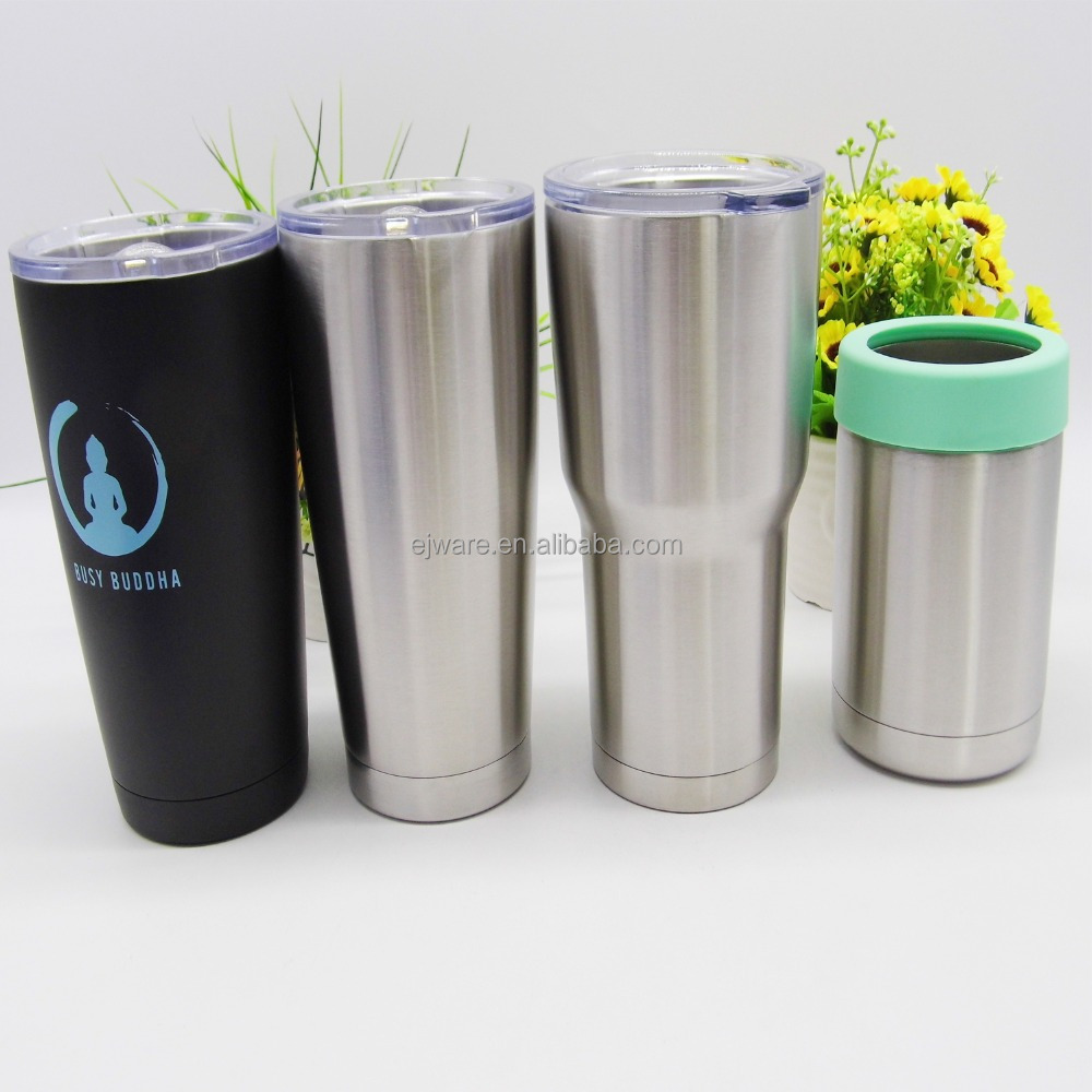 30 oz stainless steel vacuum insulated tumbler 18/8 thermal mug 20 oz tumbler