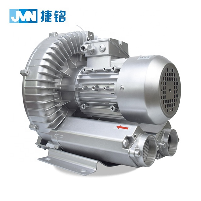 High pressure single stage 4KW electric air compressor pump aluminum blower