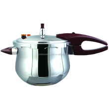 SUS304 Material Stainless Steel Pressure Cooker Belly Shape Industrial Pressure Cooker Rice Cooker