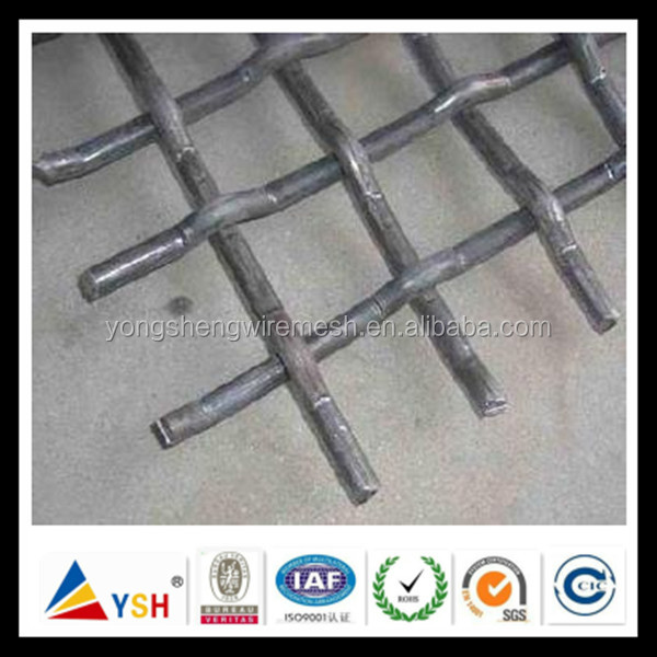 High Temperature Stainless Steel Crimped Wire Mesh (Anping Factory)