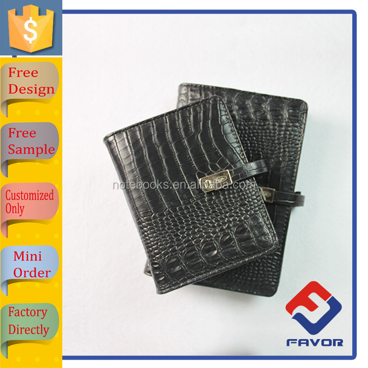 alibaba china filofax organizer, leather cover, organizer with cheap price