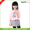 Wholesale brand name clothing fashionable girls clothes sets baby girl clothes