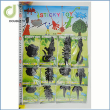 customized/wholesale funny cute Stretch Sticky black mouse Toy