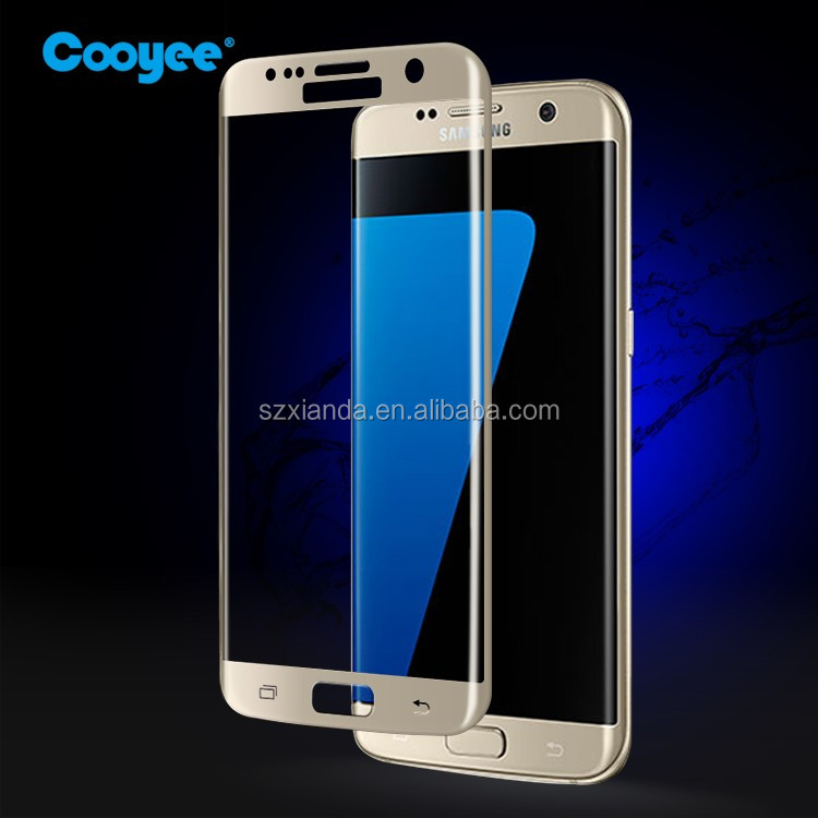 Premium screen protector for Samsung S7 edge tempered glass
