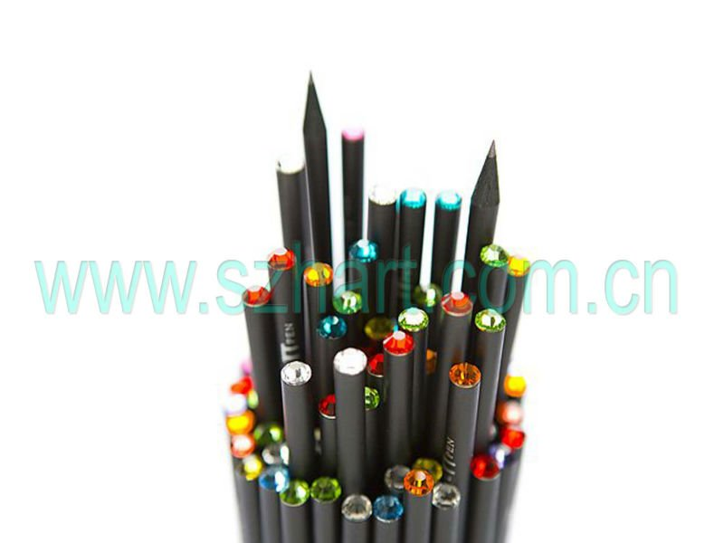 7' Wooden Hb Pencil with Diamond For School& office