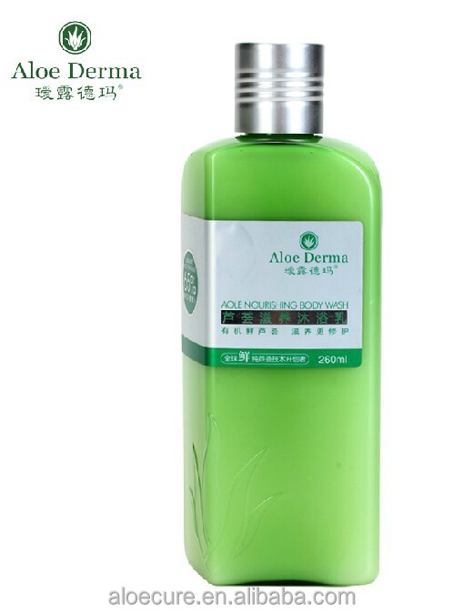 Aloe Nourishing Body Wash 260ml, shower gel, bathing gel, Herbal ingredient,