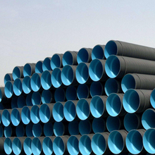 large diameter plastic hdpe corrugated irrigation pipe