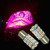 PA LED Pink Auto Turn Signal Lamp 5050 30SMD Bay15d 1157 Car Marker Reverse Light