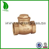 weighted swing check valve