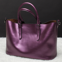2016 New fashion lady bags women's leather handbag