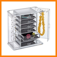 Shenzhen factory direct sale cheap acrylic jewelry display case
