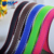 YAMA factory wholesale stocked double sided solid color stitch grosgrain ribbon