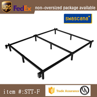 cheap mattress foundation available in Twin/TXL/Full/Queen/King sizes adjustable metal bed frame