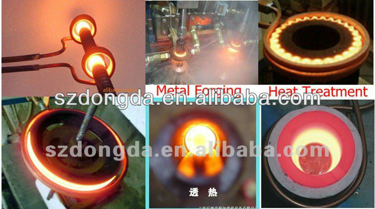 Chain Wood Heat Treatment Equipment For Forging Plant,Billet Induction Heater