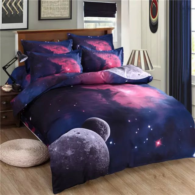 3d bettw sche galaxy thema hd digital 3 dduvet abdeckung set xk002 produkt id 60417619342. Black Bedroom Furniture Sets. Home Design Ideas