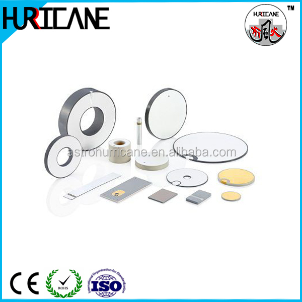1mhz customized ultrasonic hifu piezoelectric ceramic for piezo transducer