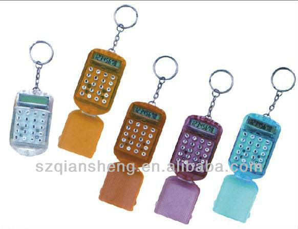 mini keychain calculator/gift calculator/pocket calculator