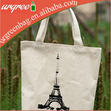 Paris Heavy Duty Canvas Tote Bags City Branded