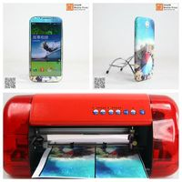 Custom personalized mobile phone vinyl sticker print and cut machine