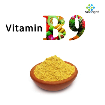 folic acid/VB9 Vitamin B9 powder stock price cas59-30-3 high quality factory supply