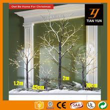 24L 1.5FT LED Artificial Cherry Blossom Snow Tree Birch Tree Light With 4/6 Hours Timer
