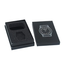 Promotional Gift Black Watch/Timer Box with White Logo and EX Factory Price
