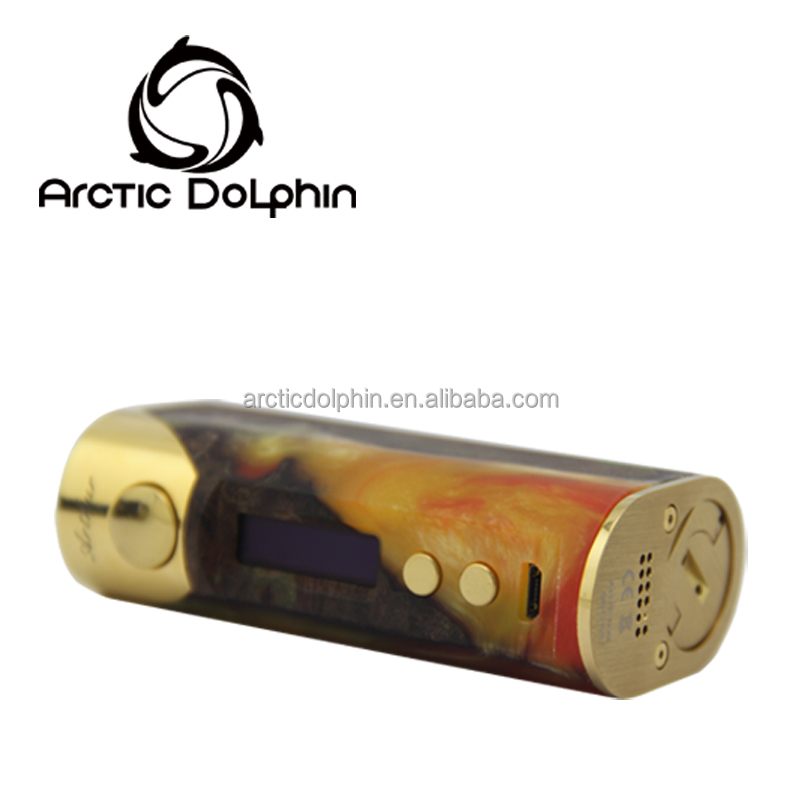 Arctic Dolphin Arthur 80W with high end topson chips and beautiful stabwood