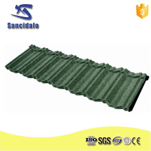 Building material for corrugated roofing sheet terrabella classic stone coated metal roof tile
