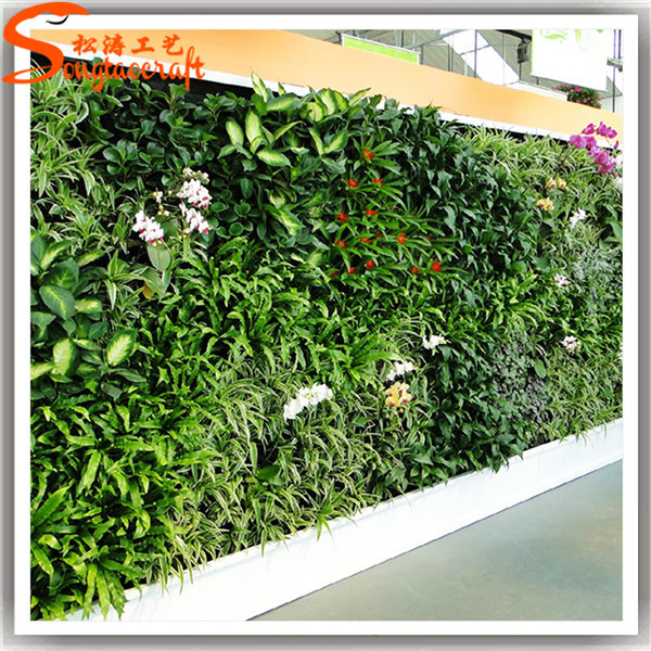 Guangzhou wholesale custom design types of artificial for Artificial plants for interior decoration
