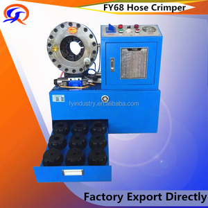 "2017 1/8"" TO 2"" lowest price hydraulic hose crimping machine PRICE CXT68 dx68 dx69 CXT68"