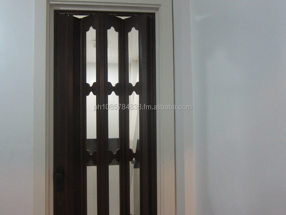 Folding door pvc BLINDS AND DECORS (02)955-6181