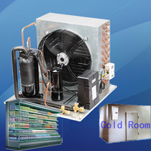 condenser for ship with R404a refrigerant vetical 220v 240v 50Hz condensing unit