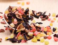 Lots of Organic Fruit Strawberry Flavor Herbal Tea Chinese Dried Fruit Grain Tea