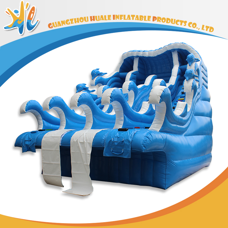Banzai Style Kids And Adults Used Inflatable Water Slide For Sale